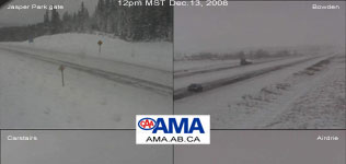 AMA highway camera collection from 4pm Dec.12, 2008