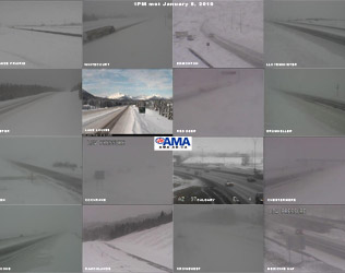 AMA highway cameras at 1pm local time Jan.8, 2011