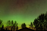 Weak Aurora show - Sept.27, 2011